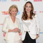 Анджелина Джоли и другие сильные женщины на саммите Women in the World