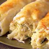 КАННЕЛЛОНИ: Фаршированные. Каннеллони с курицей и грибами. Соус. Каннеллони со шпинатом, с творогом, с сыром.