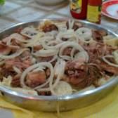 Приготовление бишбармака: мясо из Средней Азии
