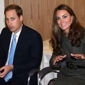 Принц Уилльям и герцогиня Кэтрин на открытии футбольного центра