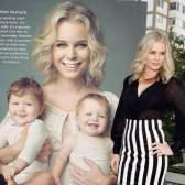 Ребекка Ромин и ее малыши в рекламе Got Milk?